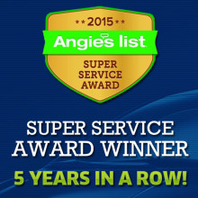 Phoenix Windshield Replacement Company wins Angie's List 5 Years in a Row!