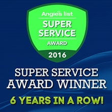 Phoenix Windshield Replacement Company wins Angie's List 6 Years in a Row!